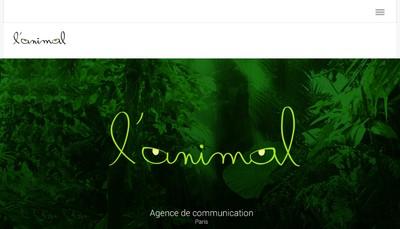 Site internet de L'Animal