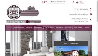 Site internet de Gilza Berri - la Nouvelle Cle Immobilier