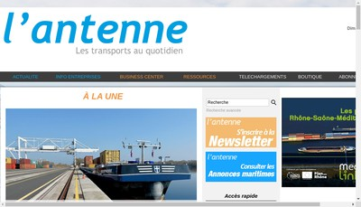 Site internet de L'Antenne