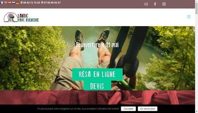 Site internet de L'Odyssee des Bois