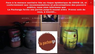 Site internet de La Pachanga