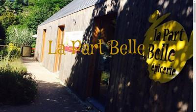 Site internet de La Part Belle