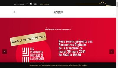 Site internet de La Pataterie