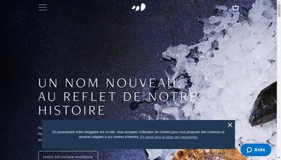 Site internet de La Perle des Greves