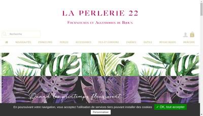Site internet de La Perlerie 22