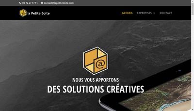 Site internet de La Petite Boite