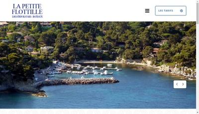 Site internet de La Petite Flottille