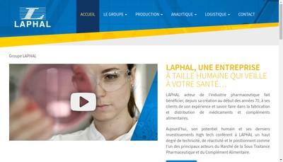 Site internet de Laphal Industries