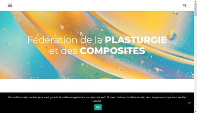 Site internet de Plasturgie Services