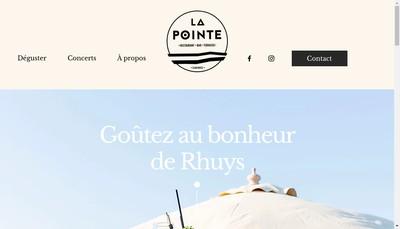 Site internet de SARL la Pointe