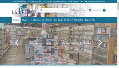 Site internet de La Preface