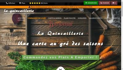 Site internet de La Quincaillerie
