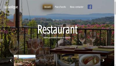Site internet de La Rastegue
