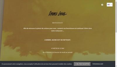 Site internet de L'Arbre Jaune