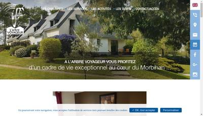 Site internet de L'Arbre Voyageur