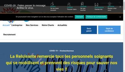 Site internet de La Reluisante