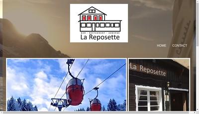 Site internet de La Reposette