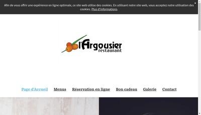 Site internet de L'Argousier