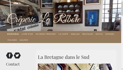 Site internet de La Ribote