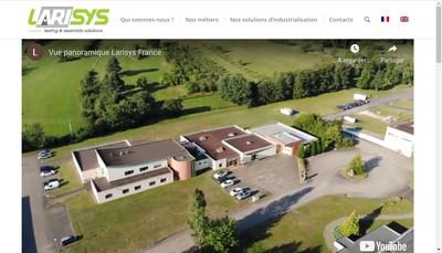 Site internet de Larisys