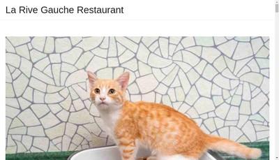 Site internet de La Rive Gauche
