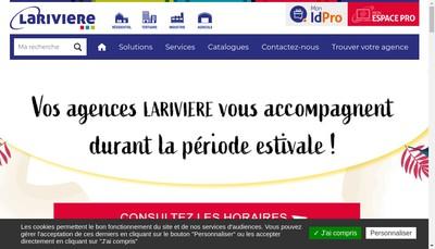 Site internet de SARL Lariviere