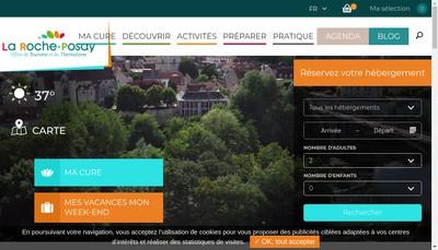 Site internet de Office de Tourisme et du Thermalisme de la Roche Posay