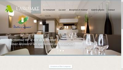 Site internet de L'Aromat' And C