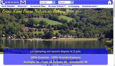 Site internet de Camping la Romiguiere