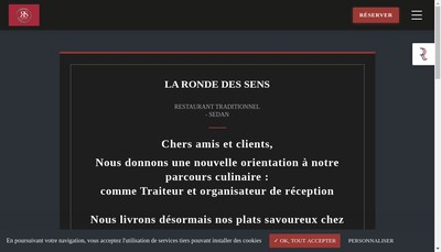 Site internet de La Ronde des Sens
