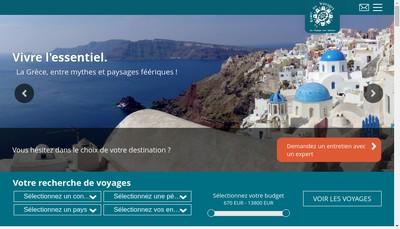 Site internet de La Route des Voyages