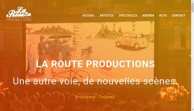 Site internet de En Route Productions