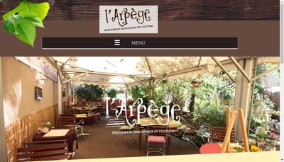 Site internet de L'Arpege