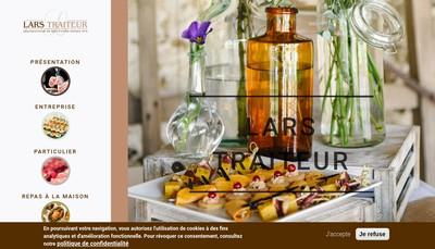 Site internet de Lars Traiteur