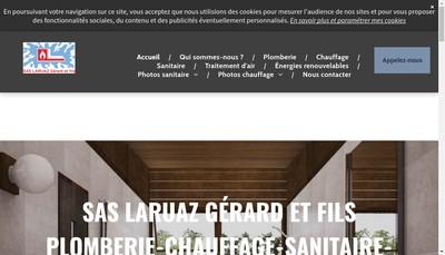 Site internet de Etablissements Laruaz Gerard et Fils