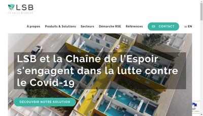 Site internet de LSB la Salle Blanche