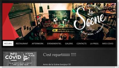 Site internet de La Scene Aix