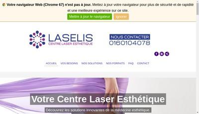 Site internet de Centre laser massy - Laselis