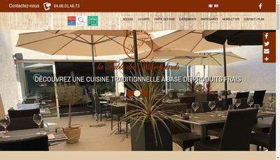Site internet de La Table des Marchands