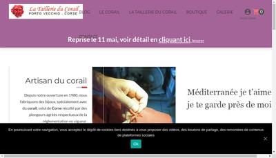 Site internet de La Taillerie