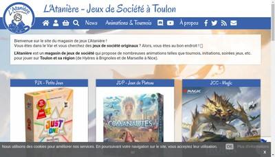 Site internet de L'Ataniere