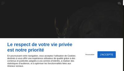 Site internet de Tannerie du Perche