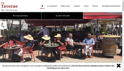 Site internet de La Taverne de Camille E Lucas