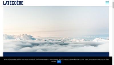 Site internet de Latecoere