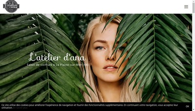 Site internet de L'Atelier D 'Ana