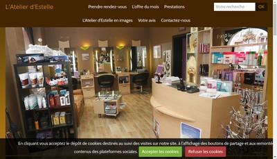Site internet de L'Atelier d'Estelle