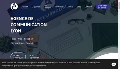 Site internet de L'Ateliercom