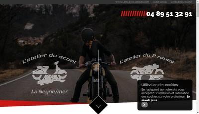 Site internet de Les Ateliers du Scoot