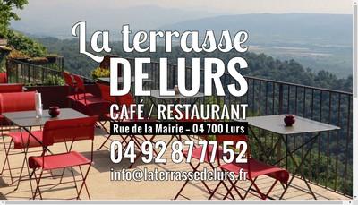 Site internet de La Terrasse de Lurs