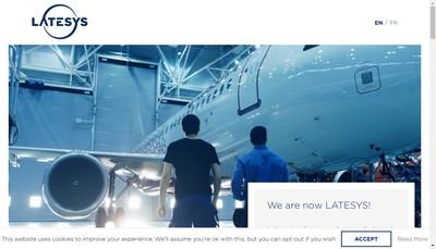 Site internet de Latesys
